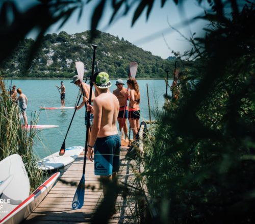 paddle surf croatia center school tour
